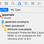 【iOS】Preferred widthの設定が必要なLabel or Buttonを見つけ出す